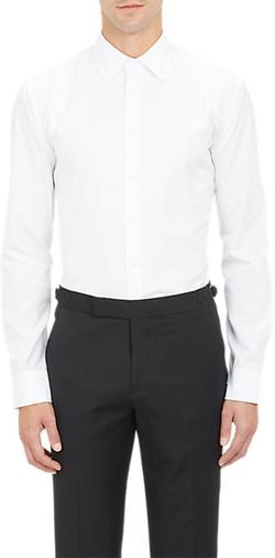 Brooklyn Tailors  - Textured Pique Tuxedo Shirt