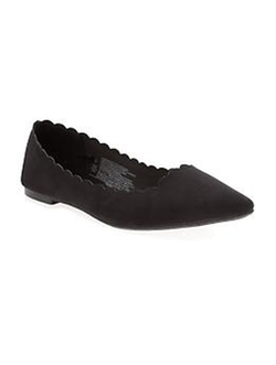 Old Navy - Scalloped Pointy Ballet Flat Shoes