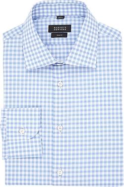 Barneys New York - Gingham Poplin Shirt