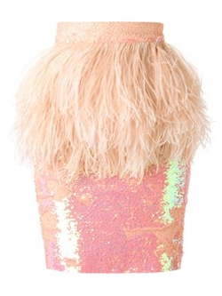 Daizy Shely  - Sequinned Pencil Skirt
