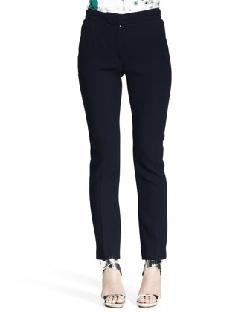 Nina Ricci  - Slim Flannel Pantalon Pants