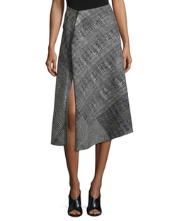 Jason Wu  - Prince of Wales Asymmetric Skirt