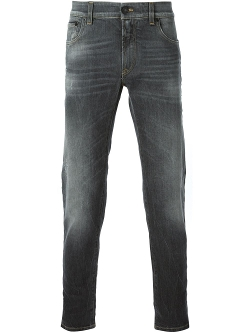 Dolce & Gabbana  - Stretch Fit Denim Jeans