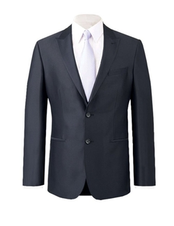 Alexander Dobell - Dark Navy Shine Suit Jacket
