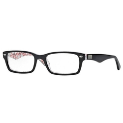 Ray-Ban - Top Black On Text Eyeglasses