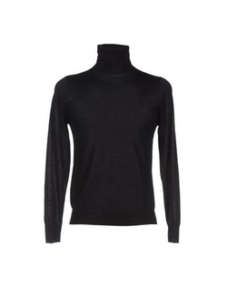 Hosio - Solid Color Turtleneck Sweater