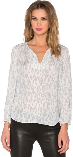 Joie - Odelette B Cheetah Printed Blouse