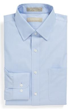 Nordstrom  - Smartcare Wrinkle Free Trim Fit Dress Shirt