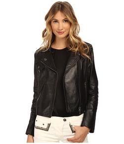 Pierre Balmain  - Leather Moto Jacket