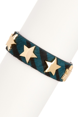 Natasha Accessories  - Star Stud Bracelet