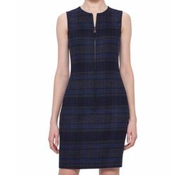 Akris  - Reversible Zip-Front Sheath Dress