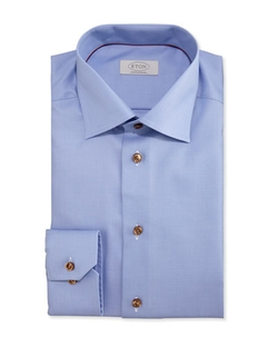 Eton - Contemporary-Fit Textured Dress Shirt