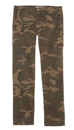 Grown & Sewn  - Camo Cadet Cargo Pants