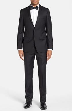 Michael Kors  - Trim Fit Wool Tuxedo Suit