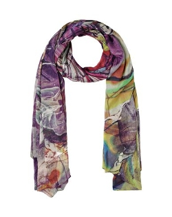 Front Row Society - Multicolor Pattern Stole