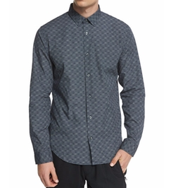 Vince - Melrose Printed Long-Sleeve Sport Shirt