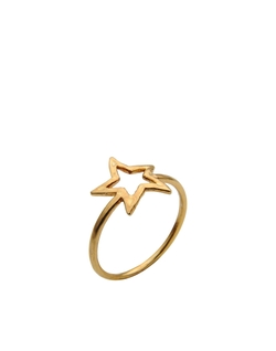 Aonie - Gold Plated Star Ring