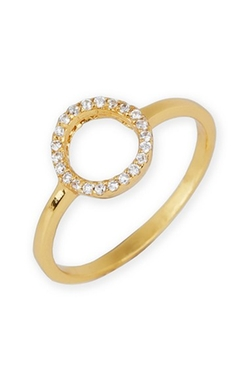 Argento Vivo - Open Circle Ring