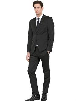 Manuel Ritz  - Super Slim Stretch Techno Satin Suit