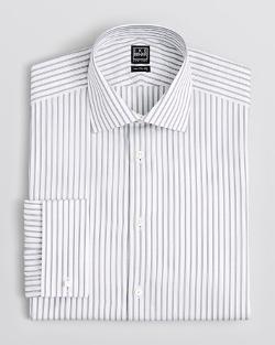 Ike Behar - Stripe Dress Shirt
