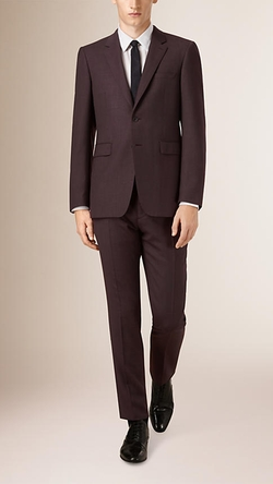 Burberry - Modern Fit Wool Half-Canvas Suit
