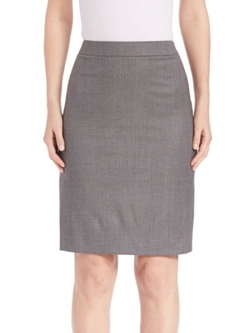 Boss  - Blurred Focus Pencil Skirt