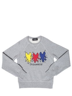 Dsquared2  - Ciro Printed Cotton Sweatshirt