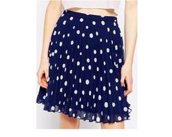 Asos Petite  - Polka Dot Mini Skirt