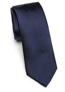 Saks Fifth Avenue Collection  - Solid Silk Tie