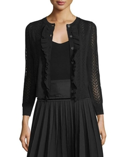 Marc Jacobs - Button-Front Cropped Cardigan