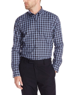 Cutter & Buck - Long Sleeve Joshua Plaid Shirt
