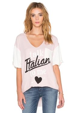 Wildfox Couture - Talk Italian To Me Tee