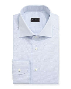 Ermenegildo Zegna - Textured Oxford Dress Shirt