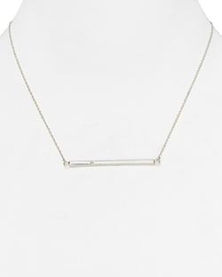 Jennifer Zeuner  - Chelsea Horizontal Bar Necklace