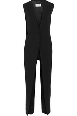 Maison Margiela  - Wool-Blend Crepe Jumpsuit