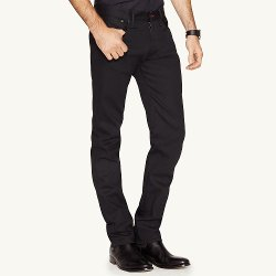 Ralph Lauren - Straight Fit Stretch Jeans