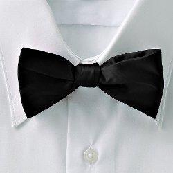 Croft & Barrow - Solid Pretied Bow Tie