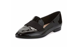 Kate Spade - Corina Patent Pointed-Toe Loafer