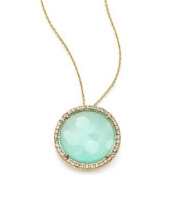 Kalan By Suzanne Kalan  - Round Pendant Necklace