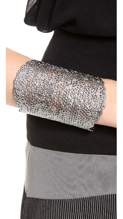 Aurelie Bidermann - Vintage Lace Cuff Bracelet