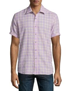 Robert Graham  - Campground Check Short-Sleeve Shirt