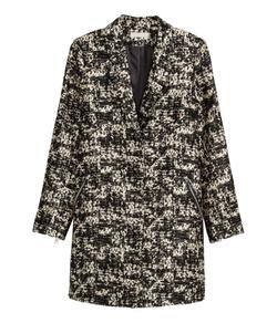 H&M - Jacquard-Weave Coat