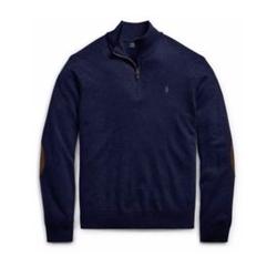 Ralph Lauren - Merino Wool Half-Zip Sweater