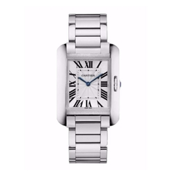 Cartier  - Tank Anglaise Medium Bracelet Watch