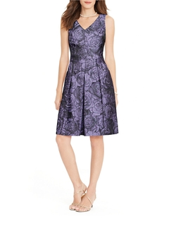 Lauren Ralph Lauren - Pleated Floral Dress