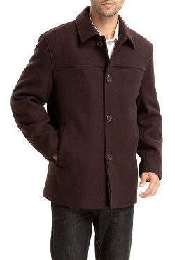 BGSD  - Wool Blend Car Coat