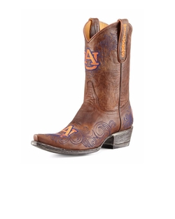 Gameday Boot Company  - Auburn Short Gameday Boots