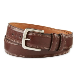 Izod - Brown Leather Belt