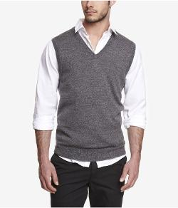 Express - Merino Wool Sweater Vest