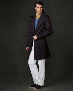 Ralph Lauren Purple Label - Bonded Trench Coat